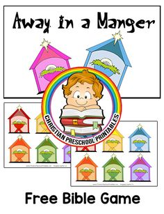 Download Game Here How to Play: This is a printable color matching game for children to play during the Christmas season. There are different color Manger scenes for the children to match up. Expansion Resources: NewTestament Bible Crafts & Printables Christmas Crafts & Printables Bible Story Crafts on Amazon Book of Bible Crafts Bible Story …