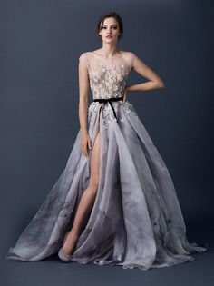 long dresses, romantic style