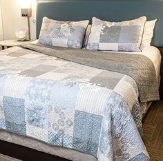 Sova Cottage Floral Cotton Quilt Set (Queen) Sova https://www.amazon.com/dp/B01H6D2Y5M/ref=cm_sw_r_pi_dp_x_TykbybX5E3FWE