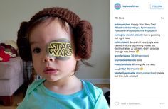 Layla's Patches on Instagram: A cool dad decorates his daughter's eye patches. Love this!