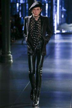 Saint Laurent Fall 2015 Menswear Fashion Show