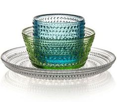 Kastehelmi Finnish Glass Ceramics, Tableware, Beautiful Furniture, Glassware, Decorative Bowls, Scandinavian Design, Glass, Crystal Glass, Bowl