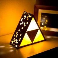 ZELDA Triforce Lamps #zelda #triforce - Geek Decor