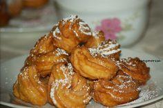 Eberswaldi fánkocskák Onion Rings, Bagel, Chicken Wings, French Toast, Muffin, Food And Drink, Meat, Baking, Breakfast