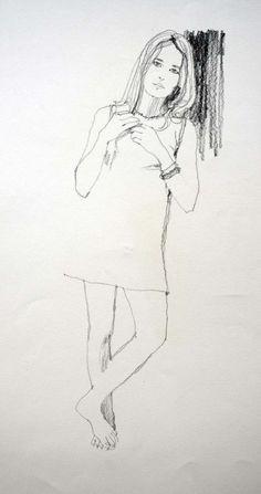 Bernie Fuchs (1932 - 2009), 60s Girl Ellise.