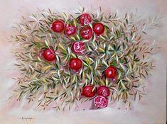 """Άκηs Τοπάληs: Η """"δημιουργία"""" είναι η διέξοδός μου, που με ταξιδεύει και που αφήνει τη φαντασία μου να γίνει πραγματικότητα Fruit, Blog, Painting, Painting Art, Blogging, Paintings, Painted Canvas, Drawings"""