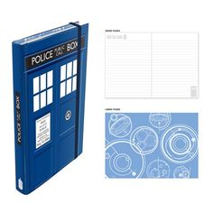 Doctor Who TARDIS Notebook $12.99
