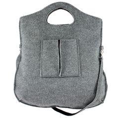 Vilten tas Felt Purse, Felt Bags, Pouch, Wallet, Backpacks, Handbags, Inspiration, Purses, Shoe Bag