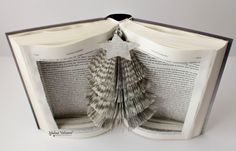 Book Art  Christmas Tree Book Sculpture   by MalenaValcarcel