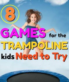 8 Awesomely FUN Trampoline Games – How Wee Learn These are crazy fun trampoline games for kids this summer! Love the COW trampoline game for kids! Activities For 2 Year Olds, Creative Activities For Kids, Educational Games For Kids, Kids Learning Activities, Summer Activities, Educational Software, Motor Activities, Family Activities, Outdoor Activities
