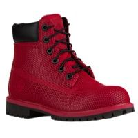 "Timberland 6"" Exo-Web Boot - Boys' Grade School - Red / Black"