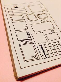 bujo, bullet journal, ideias de como montar, inspiração, planejamento, organização pessoal, cadernos.: