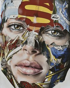 Sandra Chevrier, La Cage entre la Lumière et L'obscurité, 2016 Comic Books Art, Comic Art, Sandra Chevrier, A Level Art Sketchbook, Comic Kunst, Identity Art, Art Et Illustration, Masks Art, Gcse Art