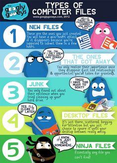 Computer File Types: Ninja Files & More!