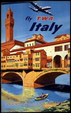 Fly TWA to Italy.