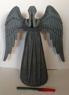 Weeping Angel Tree Topper (Doctor Who) by Smilodonna.deviantart.com on @deviantART