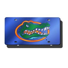 Florida Gators Blue Mirror License Plate Laser Tag