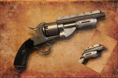 Jayne Cobb's gun on Firefly and Serenity by GeekHouseCreations