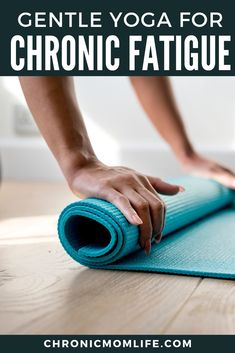 Herbal Medicine Why you should try gentle yoga to relieve chronic fatigue symptoms. Fatigue Causes, Chronic Fatigue Syndrome Diet, Chronic Fatigue Symptoms, Chronic Illness, Chronic Pain, Adrenal Fatigue, Stress Relief, Pain Relief, Gentle Yoga