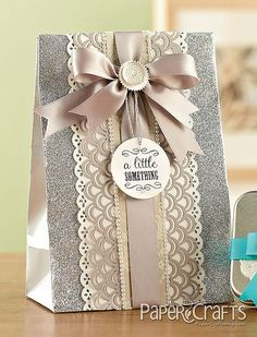Shemaine Smith - Paper Crafts : We love these pretty gift bags to gift wrap your Vanparys dragees as presents! Creative Gift Wrapping, Creative Gifts, Wrapping Ideas, Wrapping Gifts, Wedding Gift Wrapping, Christmas Gift Wrapping, Christmas Gifts, Craft Gifts, Diy Gifts