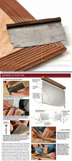 String Inlay Techniques - Finishing and Decoration Tips and Techniques | WoodArchivist.com