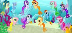 #1518561 - alicorn, applejack, artist:magpiepony, artist:magpie-pony, artist:selenaede, artist:user15432, base, base used, earth pony, equestria girls ponified, fluttershy, hasbro, hasbro studios, irony, juniper montage, mane six, mermaid, mermaidized, merpony, minty, not fiery shimmer, pegasus, pinkie pie, ponified, pony, rainbow dash, rarity, safe, starlight glimmer, sunset shimmer, trixie, twilight sparkle, twilight sparkle (alicorn), underwater, unicorn - Derpibooru - My Little Pony…