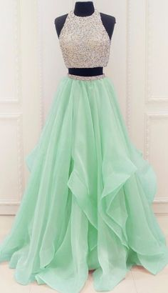 A line Prom Dresses, Champagne Prom Dresses, Long Prom Dresses With Beaded/Beading Sleeveless Floor-length, A Line dresses, Long Prom Dresses, Princess Prom Dresses, Prom Dresses Long, Mint Prom dresses, A Line Prom Dresses, Champagne Long dresses, Long Champagne dresses, Prom Long Dresses