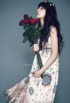 Miss A Suzy Red Roses for a Blue Lady