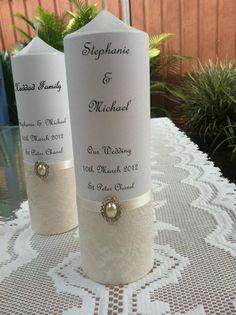 Wedding family & couple candles