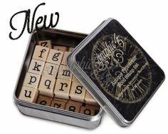 GRAPHIC 45 TYPEWRITER STAMP Set  Full Alphabet by BarbsHandiworks, $39.95