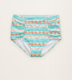 Soft Muslin Aerie Hi-Rise Bikini Bottom. Swimwear that rises to the occasion. #Aerie