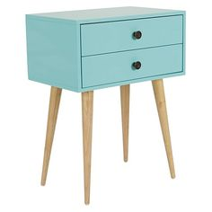 Zanui Lois Aqua Bedside Table
