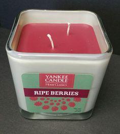 Yankee Candle Home Classics Ripe Berries 2 Wicks 16 ounces New  #YankeeCandle