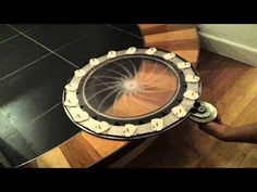 Mechanical iris window shade explained. - YouTube