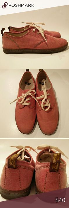 Dr. Martens Eclectic Collection SoHo Canvas Shoes Dr. Martens Eclectic Collection SOHO CANVAS  Shoes  EXCELLENT PRE-OWNED CONDITION,  LIKE NEW  Sz.10 3 EYELET RED CHAMBRAY  PETS AND SMOKE FREE HOUSE  WILL SHIP WITHIN 24 HOURS FROM CLEARED PAYMENT Dr. Martens Shoes Flats & Loafers