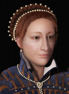 Facial reconstruction of what Mary Stewart, Queen of Scots, may have looked like by the end of her reign Photo: National Museum of Scotland Mary Queen Of Scots, Queen Mary, Tudor History, British History, Church History, Family History, Dundee University, Isabel Tudor, Forensic Facial Reconstruction