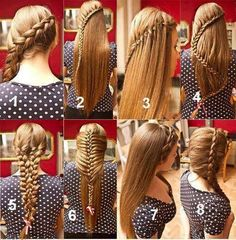 8 ways to do your hair :) which one is your favorite?