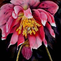 Leonard Thompson.  Silk Painting