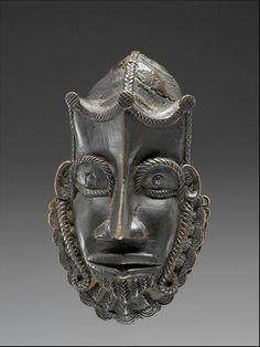 Two Faces, My Heritage, Folk, Skull, Yoruba, Bronze, Collection, Pendant, Ethnic