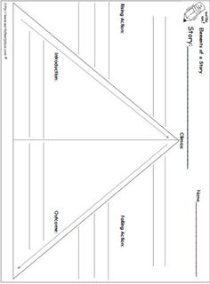 Great graphic organizer for story map