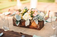 Green Wedding Shoes, décoration mariage, wedding, centerpiece, centre de table,