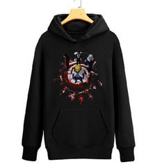 Camplayco Naruto Logo Cosplay Black Hoodies Pullover Warm Coat Size XL >>> You can find more details by visiting the image link.