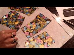 Polymer Clay Surface Decoraton Acrylic Ink Effect by The Silvercat209 on…