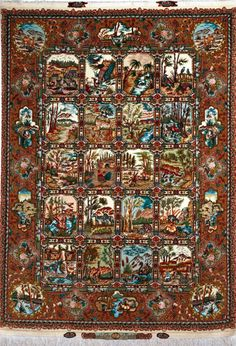 Tabriz Silk Persian Rug Exclusive Collection Of Rugs And Tableau Treasure Gallery