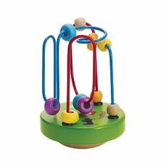 Manhattan Toy Wobble-A-Round Beads Green - 1 ea