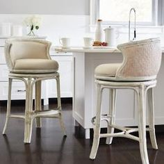 Elevate your home decor with comfortable and durable bar stools from Frontgate. Find high-quality, stylish kitchen counter stools and bar chairs online. Counter Stools With Backs, Swivel Counter Stools, Counter Height Bar Stools, Island Stools, Kitchen Island, Teal Accent Chair, Accent Chairs, Bar Seating, Living Room Chairs