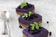 Blåbärsbakelse (utan gluten, ägg, laktos) #vegan #glutenfri