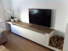 Inbouw tv meubel van Another fine Dimidesign www.dimidesign.nl