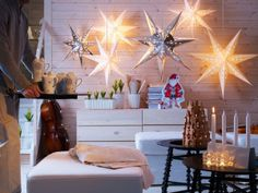star lights for holiday decorations