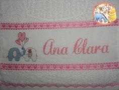 Ponto Cute: Toalhas Ana Clara